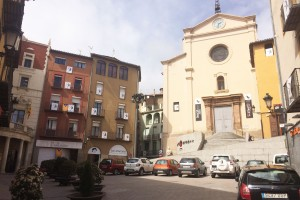 Berga implanta un nou mercat setmanal, cada dimecres a la plaça de Sant Pere
