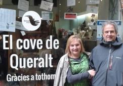 Dolors Malo, de Berga, s'emporta el Cove de Queralt, amb més de 600 productes