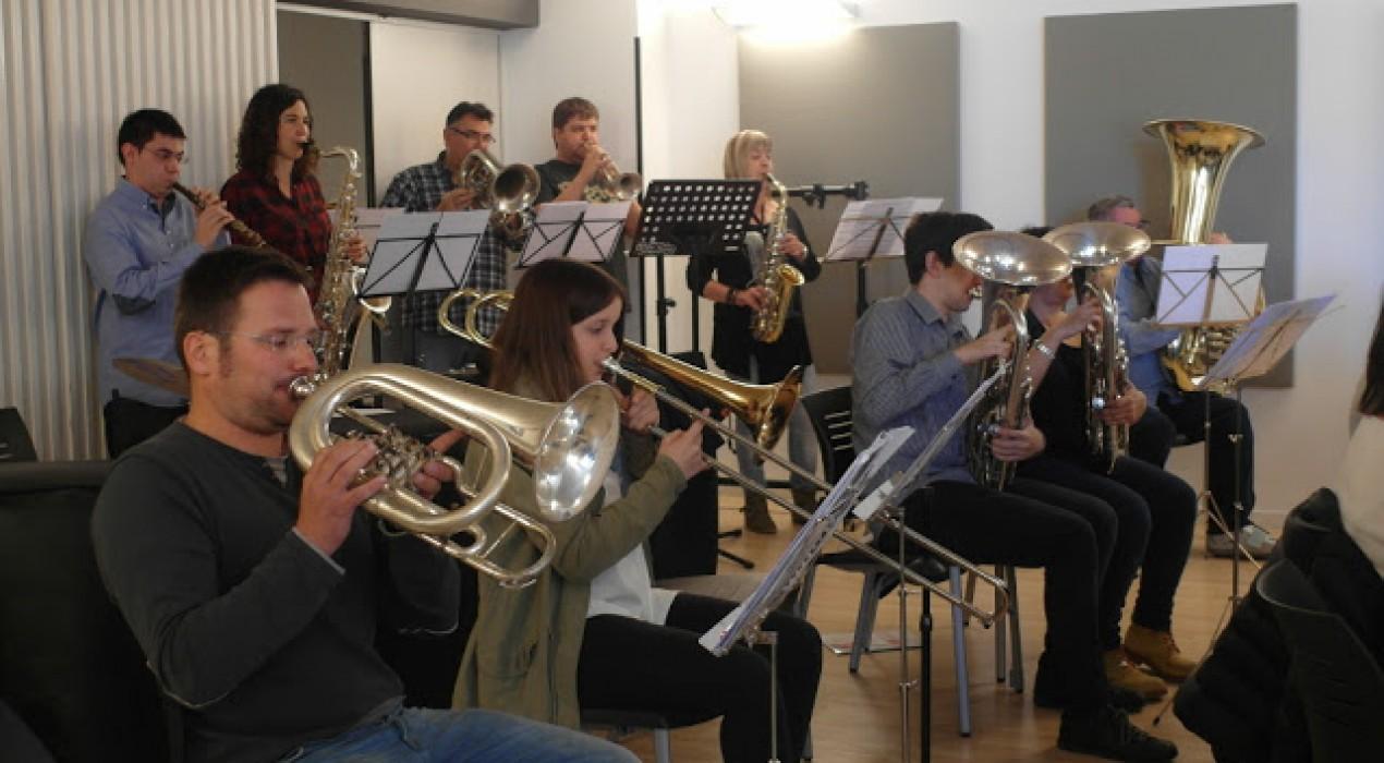 La banda del Memorial Ricard Cuadra actuarà sola al concert de Patum, amb obres patumaires i queraltines