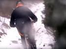 L'espectacular baixada de Queralt a Berga en bici comprimida en 3 minuts