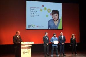 L'estudiant David Ballonga, de l'Institut de Puig-reig, obté un dels Premis Recerca Jove
