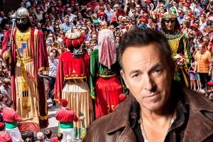 La música de Bruce Springsteen acompanyarà als gegants en un salt del diumenge de Patum
