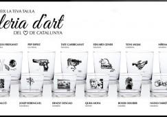 Artistes de la Catalunya central il·lustren una col·lecció de gots