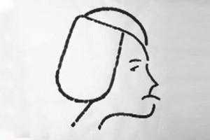 La caricatura de Montserrat Minoves de Josep Maria de Martín