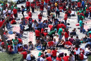 Més de 700 monitors d'Esplais Catalans fan una trobada a Berga