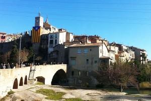 Gironella estrena ruta històrica pel nucli antic amb 9 monòlits metàl·lics a edificis patrimonials