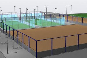 Gironella construirà dues pistes de pàdel a la zona esportiva