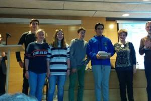 Òmnium del Berguedà entrega els premis d'Història en el marc d'una vetllada literària