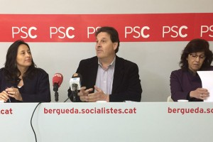 """El PSC demana explicacions a la Generalitat per """"l'incompliment d'actuacions previstes al Berguedà"""""""