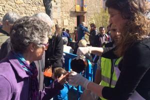 La festa de Sant Marc atrau centenars de persones a Queralt