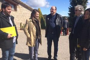 Meritxell Serret visita el Berguedà i el Lluçanès i posa en valor els projectes de desenvolupament rural