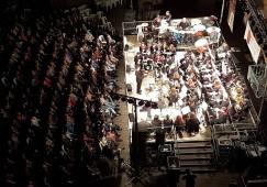El Concert de Patum amb la banda del Memorial Ricard Cuadra acull unes 500 persones