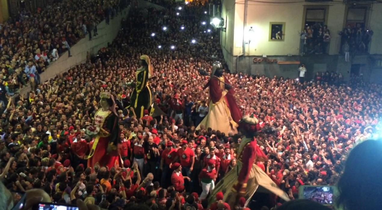 El Departament de Cultura destina 15.000 euros menys que l'any passat a la Patum