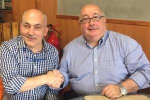 ICV i Podem del Berguedà tanquen un acord de col·laboració per a la campanya electoral del 26-J