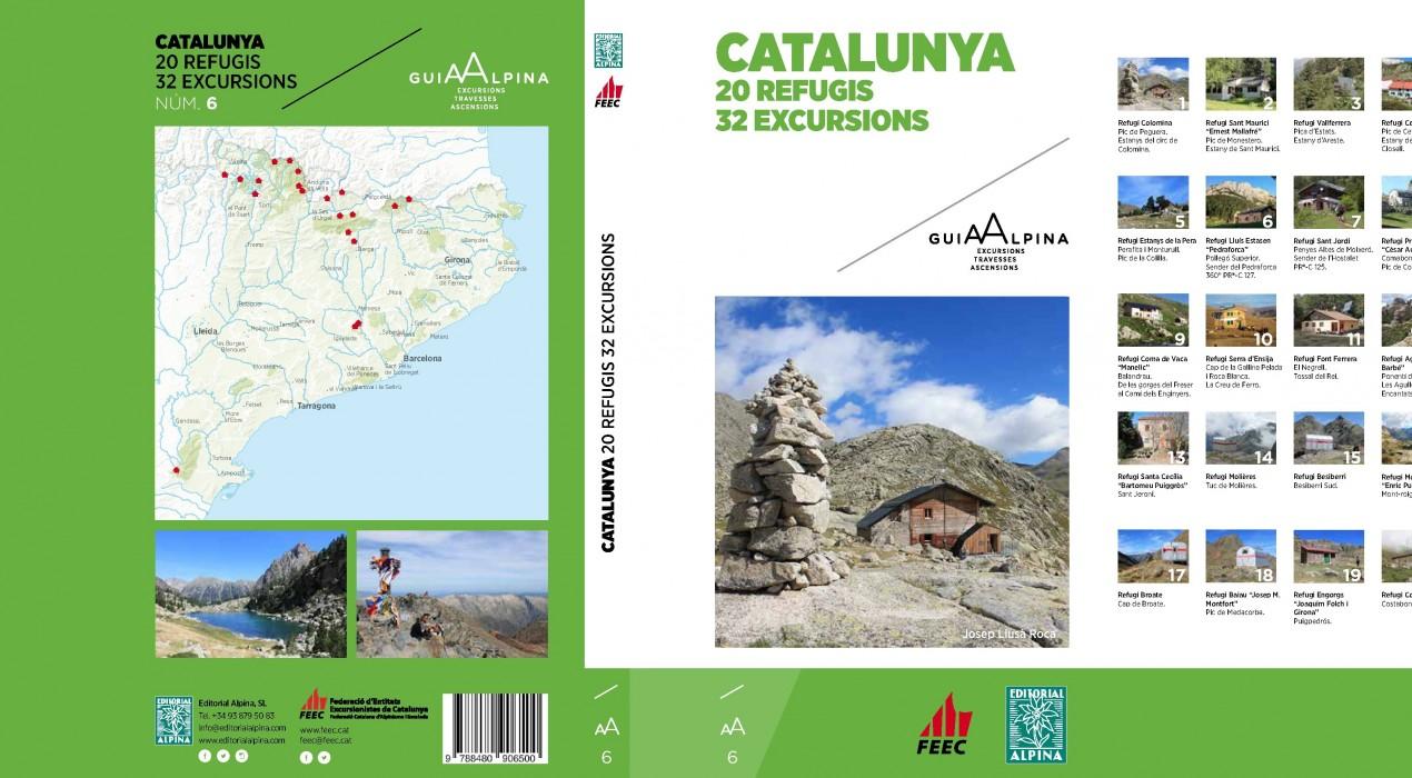 La FEEC presenta un nou llibre al refugi Estasen, a Saldes, amb més de 30 propostes excursionistes