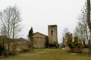 La restauració del monestir de la Portella, a La Quar, aturada 'sine die' per manca de pressupost