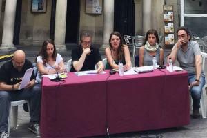 La CUP de Berga respon 42 preguntes de la ciutadania en l'acte de balanç del primer any de mandat