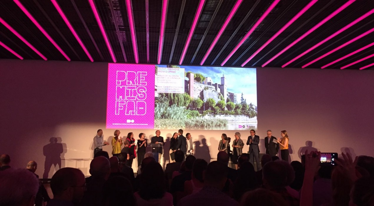 L'ascensor de Gironella guanya un dels premis FAD d'Arquitectura