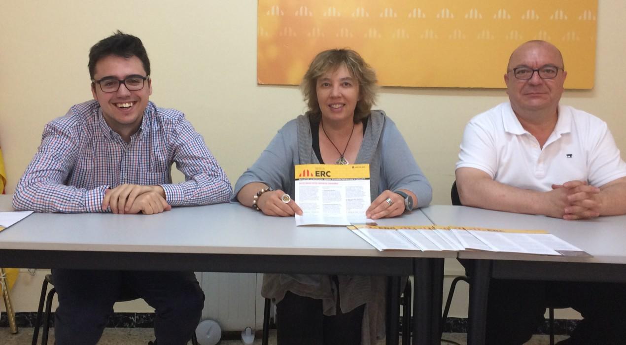 """ERC de Berga acusa al govern de la CUP de """"no haver cobert les expectatives generades"""""""