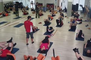 Els treballadors de Casa Lladó de Berga incorporen l'activitat física dins l'horari laboral