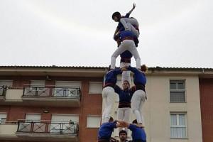 Jornada solidària dels Castellers de Berga a benefici dels refugiats que acull Grècia