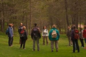 Vilada recupera l'itinerari terapèutic del passeig dels Pins del Metge