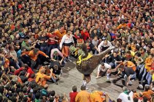 El Patronat i la Conselleria de Cultura ja treballen per portar la Patum a un festival de Washington