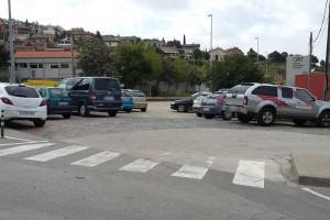 Berga asfaltarà l'aparcament de la plaça Gernika