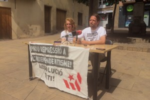 El grup de suport Teti Absolució inicia accions prèvies al judici del 21 de juny