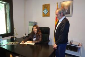 La delegada del Govern a la Catalunya Central visita els ajuntaments de Vilada i Vallcebre