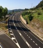 Adéu als carrils ràpids de la C-16, entre Berga i el túnel del Cadí, per aquest pont de la Puríssima