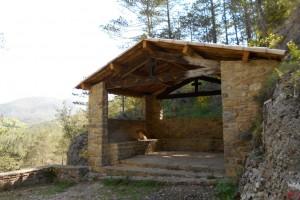 Borredà restaura la caseta del Pare Coll