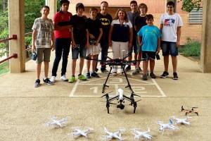 Cercs tanca amb bona valoració el primer campus per aprendre a pilotar drons