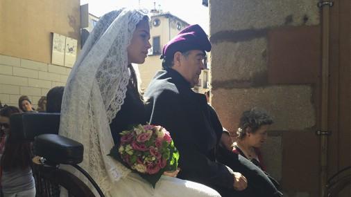 Berga viu una boda dels Elois en memòria de Montserrat Minoves
