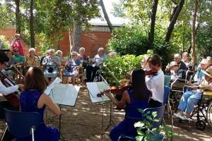 La Residència Sant Bernabé de Berga acull el primer concert de música a domicili del FeMAP