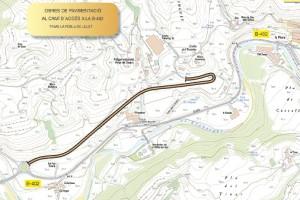 Territori i Sostenibilitat destinarà 445.000 euros en millorar un camí d'accés a la B-402, a la Pobla de Lillet