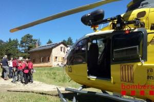 Els Bombers han fet 22 rescats al Berguedà de gener a juny