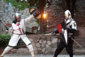 Bagà recrea l'època medieval per les Festes de la Baronia de Pinós