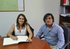La Generalitat s'interessa per l'estat de les carreteres a Castellar de n'Hug i a Castell de l'Areny