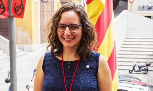 """Mònica Garcia (CUP): """"No serem a la processó perquè entenem que no és representativa de tot el poble""""; max-width:100%;"""