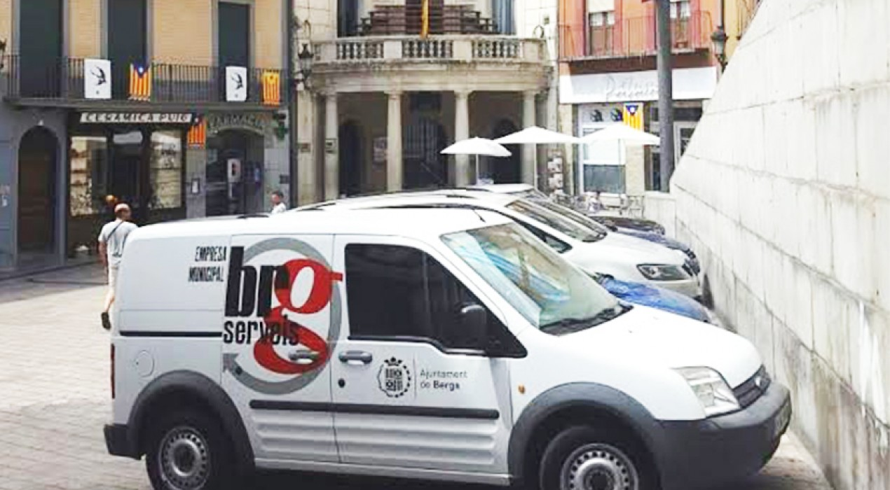 L'Ajuntament de Berga fa efectiva la municipalització de la neteja d'edificis