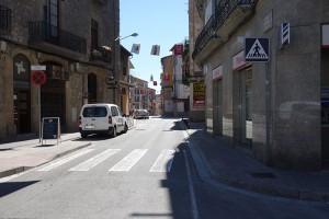 Berga prohibirà aparcar en diversos carrers per la baixada de la Mare de Déu