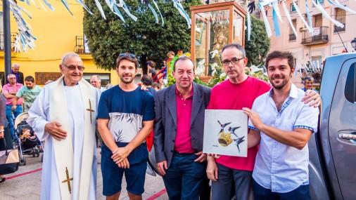 El quadre d'Iñaki Otaola sobre el centenari de la Coronació de la Mare de Déu de Queralt s'adjudica per 222 €