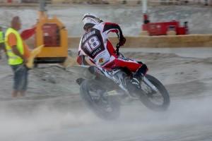 Franc Serra correrà aquest diumenge la segona prova del Mundial de Flat Track a Itàlia
