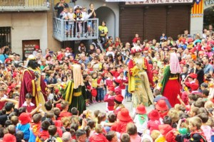 La Patum infantil confirma que farà dos salts sense plens el dijous 1 de setembre a la plaça