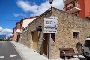 Borredà canvia tota la senyalització del seu nucli urbà