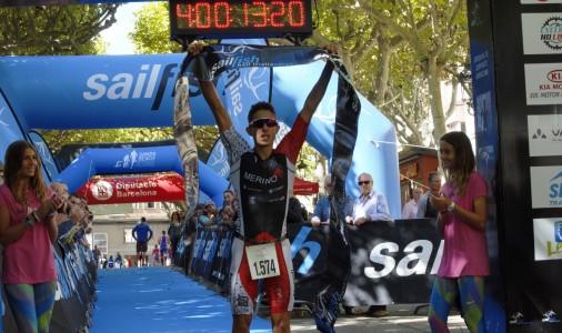L'osonenc de 24 anys Erik Merino guanya la Sailfish de Berga; max-width:100%;
