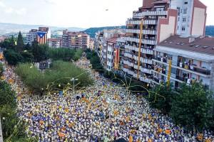 Més de 60.000 persones fan bategar la Catalunya central al passeig de la Pau de Berga