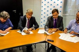 La Caixa destina 30.000 euros a l'Associació Pro Disminuïts del Berguedà i al Grup Horitzó
