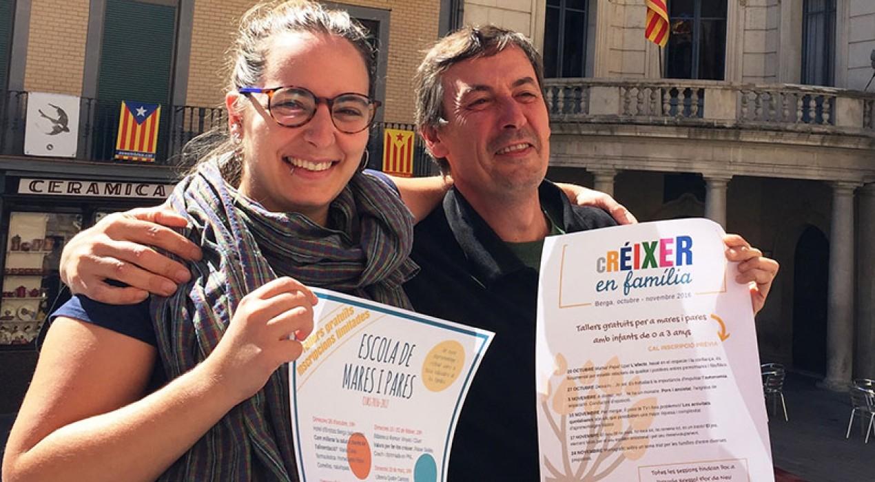 L'Ajuntament de Berga proposa una Escola de Mares i Pares per aquest curs